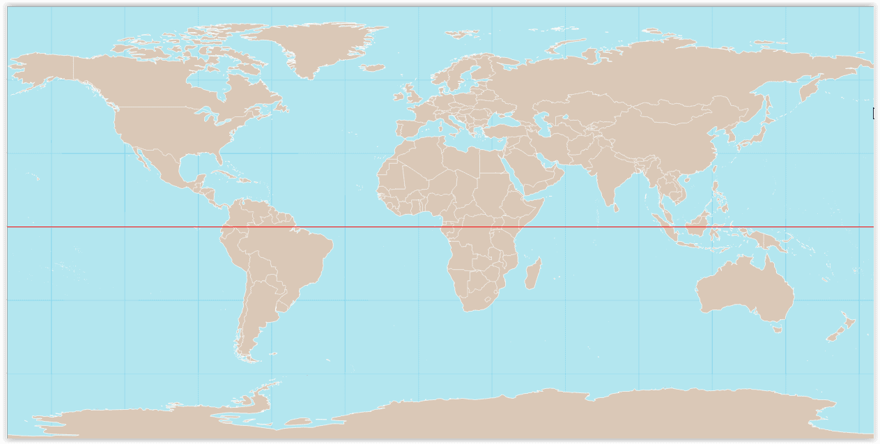 Imagen tomada de https://upload.wikimedia.org/wikipedia/commons/e/e5/World_map_with_equator.svg